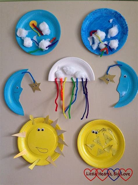 weather art projects for preschoolers up in the sky themed crafts for toddlers and preschoolers 801