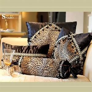 modern leopard print sofa cushion case cushion cover 3pcs With sofa cushion cover price