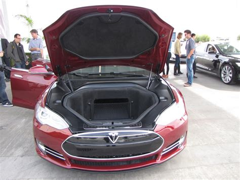 How Much Space IS There Inside A 2012 Tesla Model S Anyway?