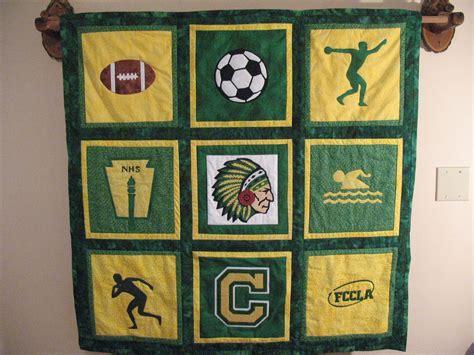 Chamberlain High School Quilt Made For David . School