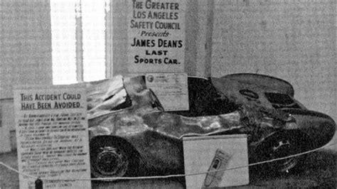 haunting photographs  james deans fatal car wreck