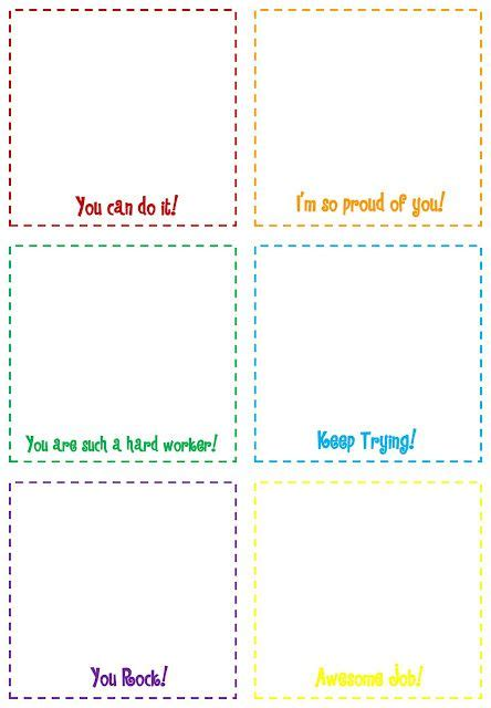 free note card template free printable notes for students i think i a