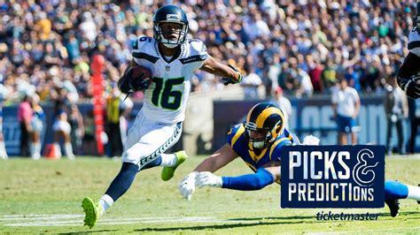 week  seahawks  rams picks predictions