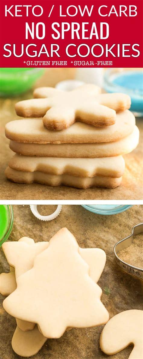 Low sugar healthy sugar cookies food faith fitness. Keto Sugar Cookies - Low Carb / Sugar Free / Paleo - Best ...