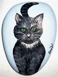 Steine Bemalen Katze : bemalte steine malen auf stein stone art steine pinterest steine bemalen steine und ~ Watch28wear.com Haus und Dekorationen