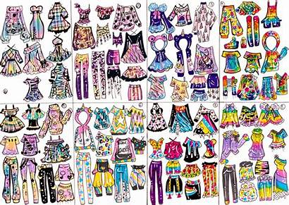 Vibes Guppie Closed Lisa Frank Vol1 Outfit
