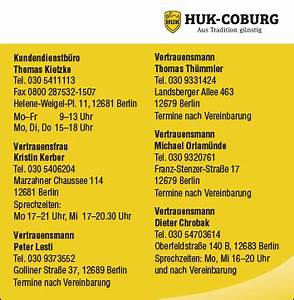 Huk Coburg Berechnen : huk coburg versicherungen vertrauensmann dieter 12683 berlin marzahn biesdorf wegweiser aktuell ~ Themetempest.com Abrechnung
