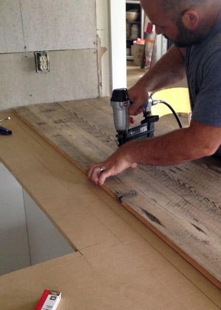 DIY Reclaimed Wood Countertop   DIY: furniture, upholstery