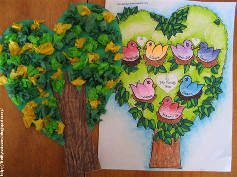 A Family Tree Craft For Grandparent's Day