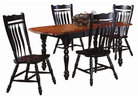 sunset trading co sunset selections dining table with