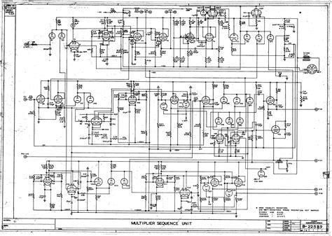 Schematic Diagram Csirac Computer Multiplier Sequence