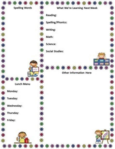 free editable newsletter templates for teachers free editable newsl by mrs magee teachers pay teachers