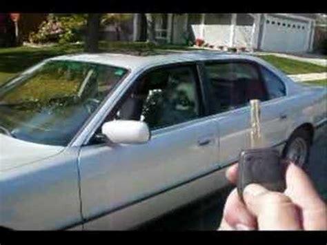bmw  il auto window     key remote