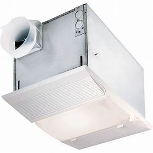 Nutone cfm ceiling exhaust fan with night light and