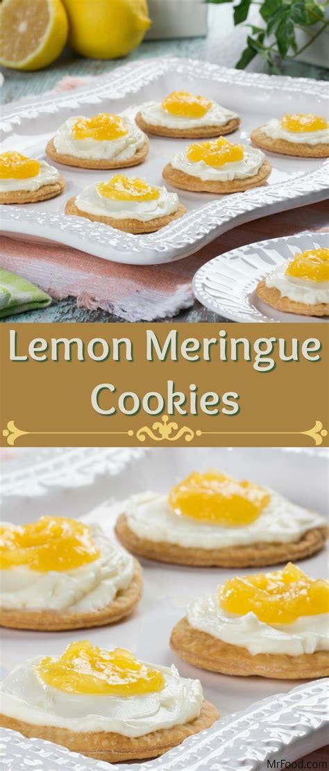 Lemon poppy seed shortbread cookies. Lemon Meringue Cookies   Recipe   Lemon meringue cookies ...