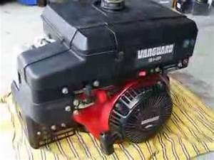 9 Hp Briggs  U0026 Stratton Vanguard Ohv Engine Electric Start