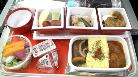 cuisine premium airlines jal407 narita frankfurt premium economy class