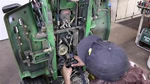 How To Replace The Drive Belt On A John Deere Gx335 Riding