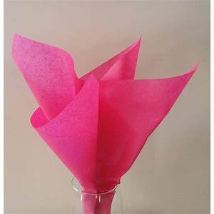 Papier De Soie Action : papier de soie rose fuchsia ~ Melissatoandfro.com Idées de Décoration