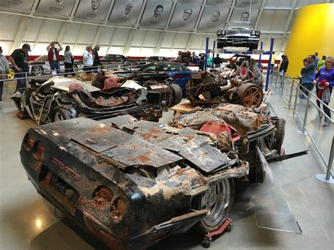 Corvette Museum Sinkhole Cars Lost by Corvette Remembering Sinkhole Cars With 1962 Corvette
