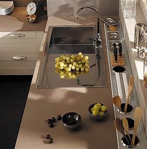 Protege Plan De Travail : accessoires d co pour relooker son plan de travail cuisine ~ Premium-room.com Idées de Décoration