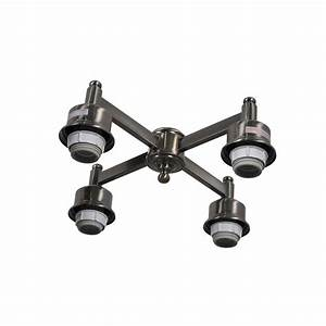 Ceiling fan light kit repair : Air cool carrolton ii in led brushed nickel ceiling