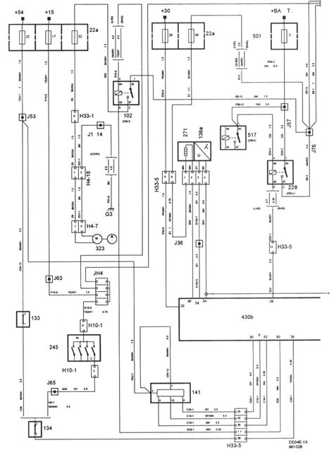 Wireing Diagram For A 1999 Saab 9 3 4 Door by I A 99 Saab 9 3 That Will Not Start I Sprayed