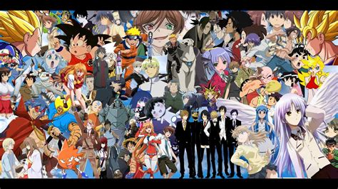 All Anime In One Wallpaper - myths of anime part 1 why anime looks choppy shockfx