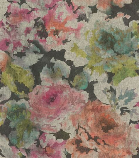 vintage tapete blumen tapete vlies vintage blumen pink orange rasch 455663