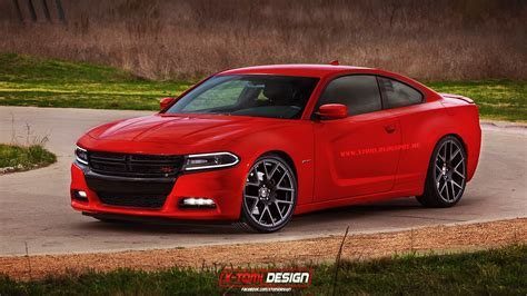 dodge charger rt coupe rendering   worst