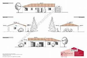plan facade maison gratuit en ligne segu maison With plans de maison gratuit 3 detail du plan de maison unifamiliale w3928