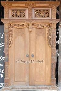 Pintu Gebyok Jati Ask Home Design