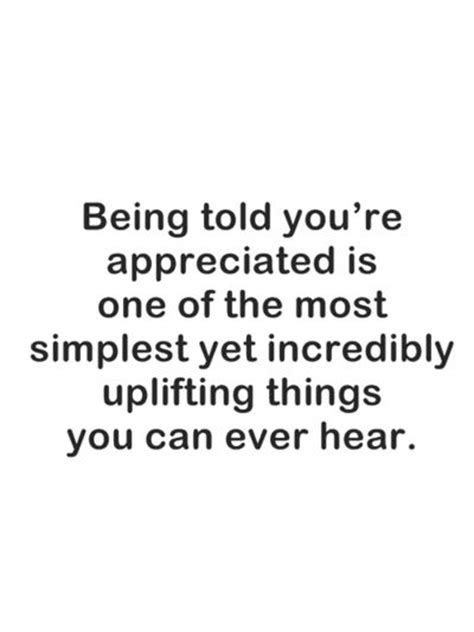 Not Being Appreciated Quotes