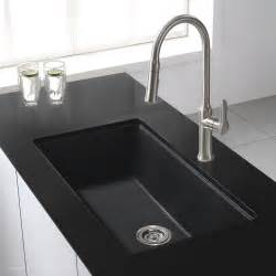 what to look for in a kitchen faucet granite kitchen sinks kraususa