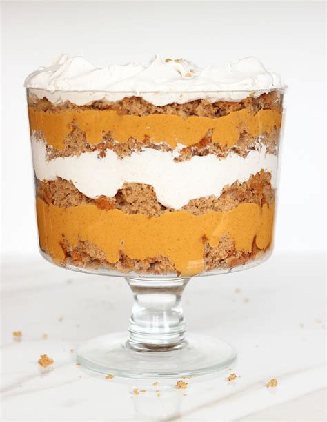 butterscotch trifle recipes pumpkin butterscotch spice cake trifle
