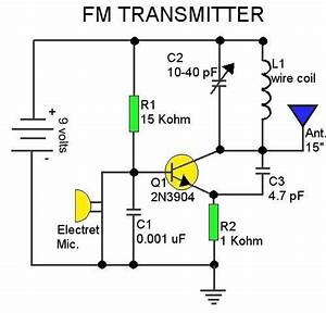 Help Modifying An Fm Transmitter Circuit Electronics Forum