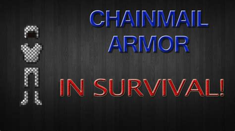 Armor Stands Minecraft by 1 6 4 How To Get Chain Mail Armor In Minecraft Survival