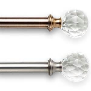 Crystal Glass Curtain Rods