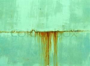 Metallic Farbe Wand : metal wand gr ne farbe mit rostspuren stockfoto colourbox ~ Sanjose-hotels-ca.com Haus und Dekorationen