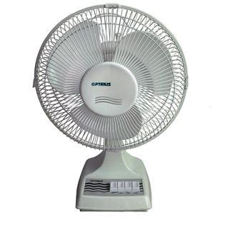 optimus 16 quot oscillating table fan appliances fans