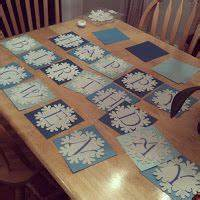 diy snowflake banner card stock snowflakes from With banner letters michaels