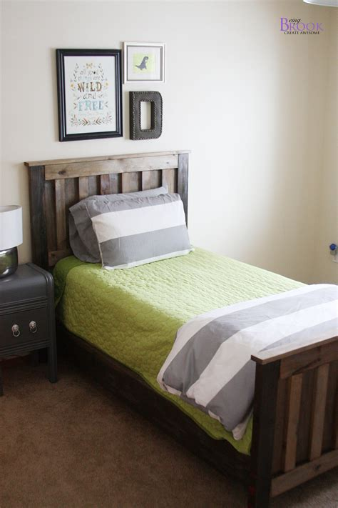 diy bed ana white kentwood bed diy projects