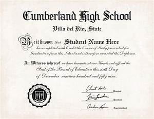 35 high school diploma template printables free With free fake high school diploma templates