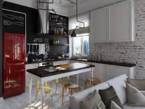 küche industrial farbe für küche küchenwand in kontrastfarbe streichen migraine headache