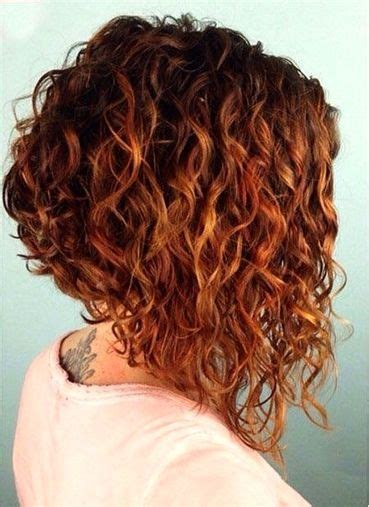 inverted curly bob short curly hairstyles  women