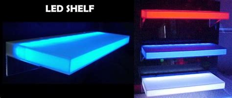 Mensola Con Luce Mood Light Shelf Mensola Con Luce A Led Cambiacolore