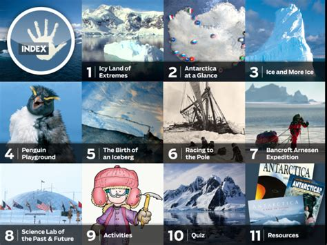 antarctica  ipad kids discover