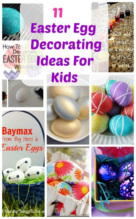 fun  easy easter egg decorating ideas