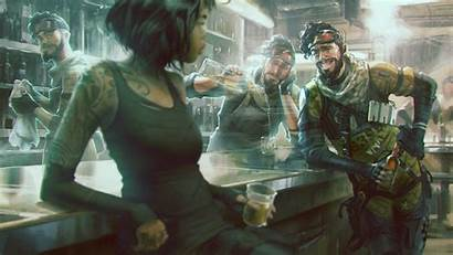 Apex Legends 4k Wallpapers Chill Bar Attack