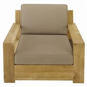 Fauteuil De Jardin Maison Du Monde : fauteuil de jardin en teck cadaques maisons du monde ~ Premium-room.com Idées de Décoration